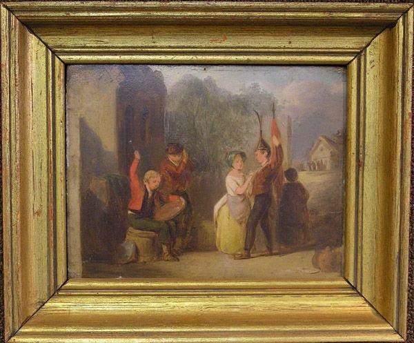 6002: Oil, British 19th, genre