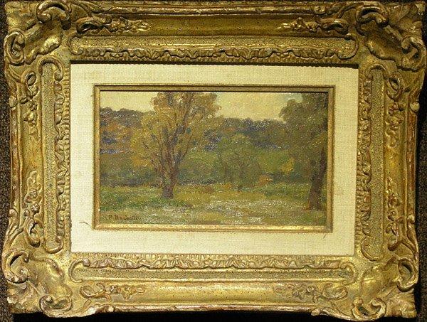 6006: Oil, Paul J.C. Baudouin, French 20th