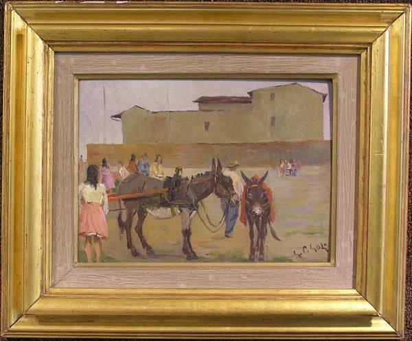 6009: Oil, Gino Paolo Goli, genre