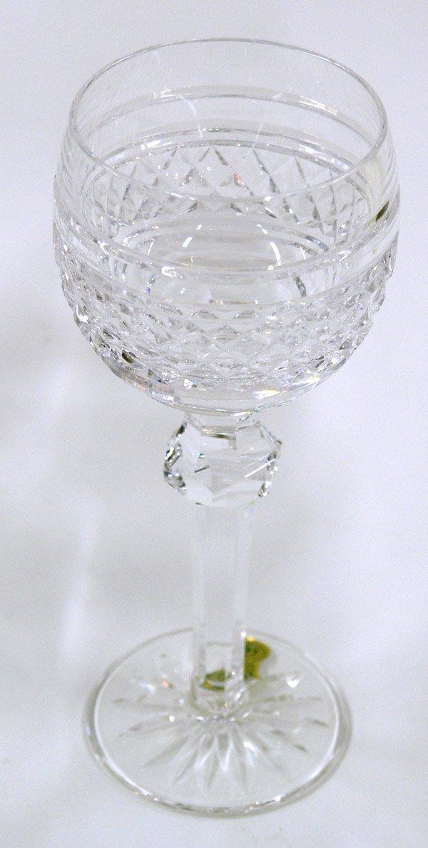 6019: Set of Waterford crystal glasses