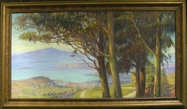 6274: Oil, Elizabeth Strong, Californian
