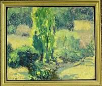 6290: Oil, William Clapp, Californian