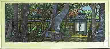 6475 Woodblock print Clifton Karhu