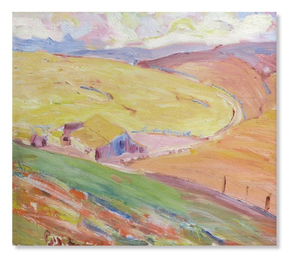 6522: Oil, Selden Connor Gile, Californian