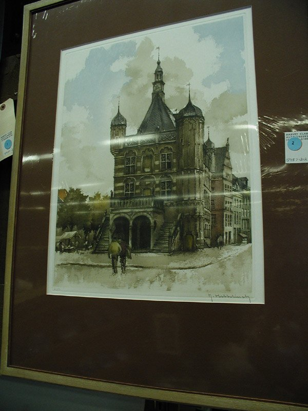 2: Etching, European 19th century