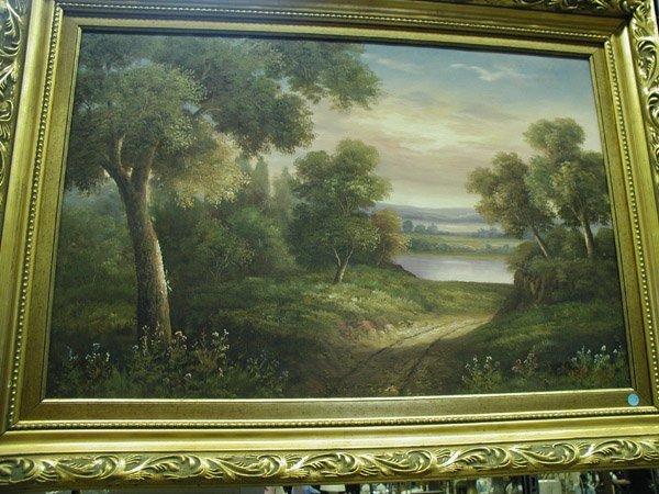 7: Framed oil, T. Edison