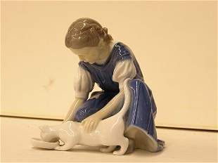 Bing & Grondhal figure of a girl