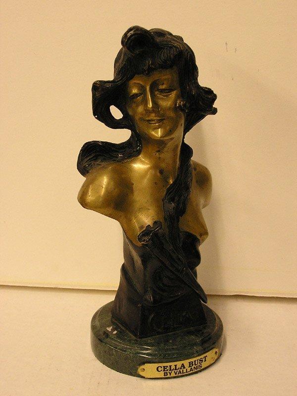 20: Bronze bust, Celia, after Villanis