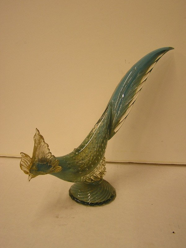 21: Murano glass pheasant