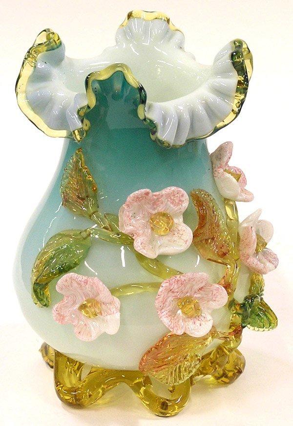 4005: Venetian glass vase