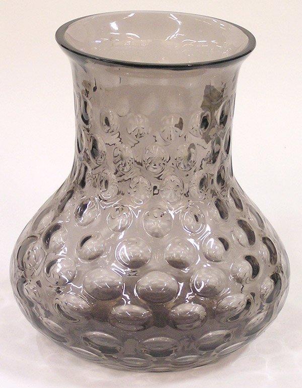 4010: Large thumbprint pattern vase