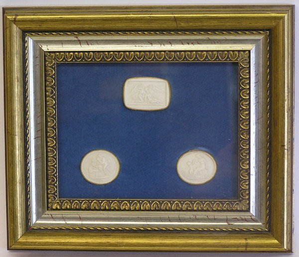 4023: Cast plaster medallions, classical