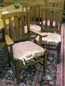 4143: Stickley Bros. Dining Chairs