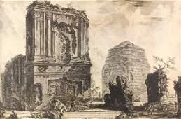 Print, Giovanni Battista Piranesi, Veduta del Sepolcro