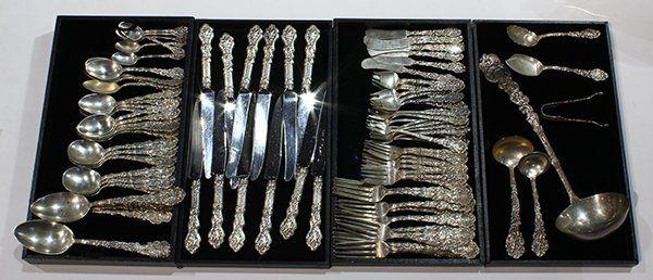"American Gorham sterling silver ""Versailles"" pattern"