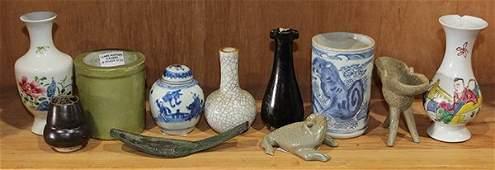 Group of Chinese Ceramics