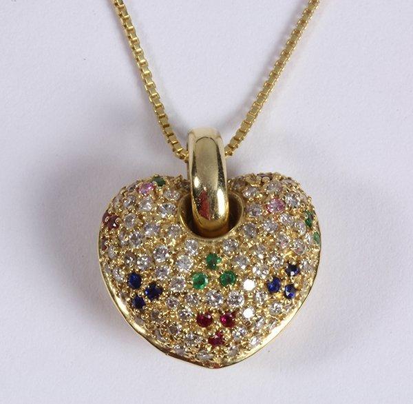 Sonia B (Bitton) ruby, emerald, sapphire, diamond and