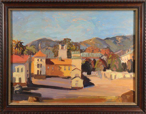 Dana Hooper, painting