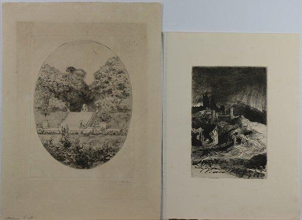 Edgar Chahine and European Prints