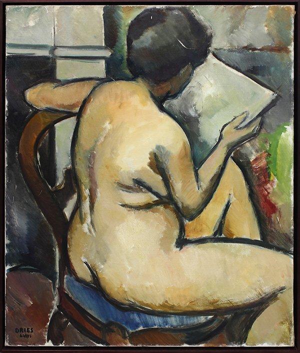 Jean Dries, painting