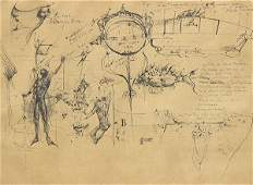 Leon Kelly, work on paper