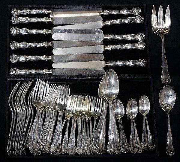 "American Gorham sterling silver ""Lancaster"" pattern,"
