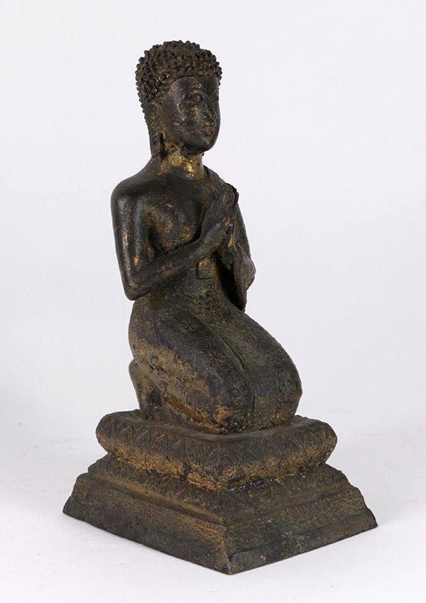 Thai Bronze Buddhist Sculpture
