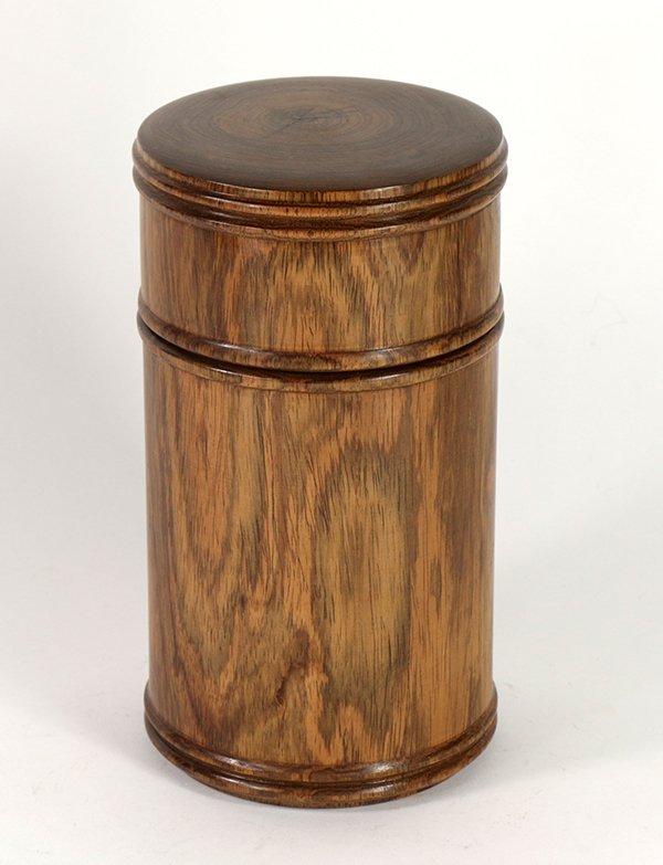 Chinese Wood Tea Caddy