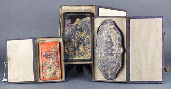 Three Chinese Ink Sticks