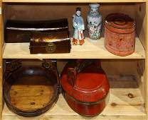 Group of Chinese/Southeast Asian Items