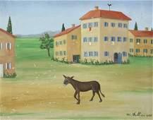 William Fellini painting