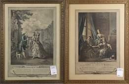 Prints, French and British Society