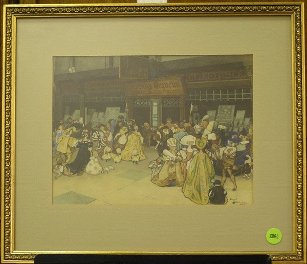2003: Watercolor, Print Shop, A. Devambez