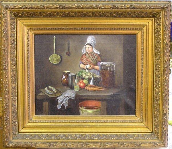 2009: Oil, Dutch 19th century, genre scene