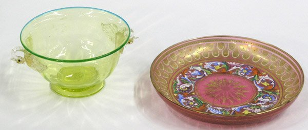 2015: Murano Swan Bowl and Neff Floral Bowl