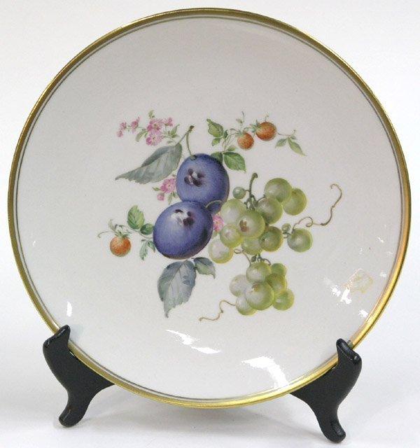 2017: Meissen porcelain plate