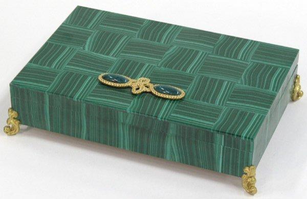 2024: Pieced Malachite Box