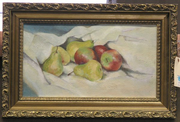 19: Oil, Still Life with fruit