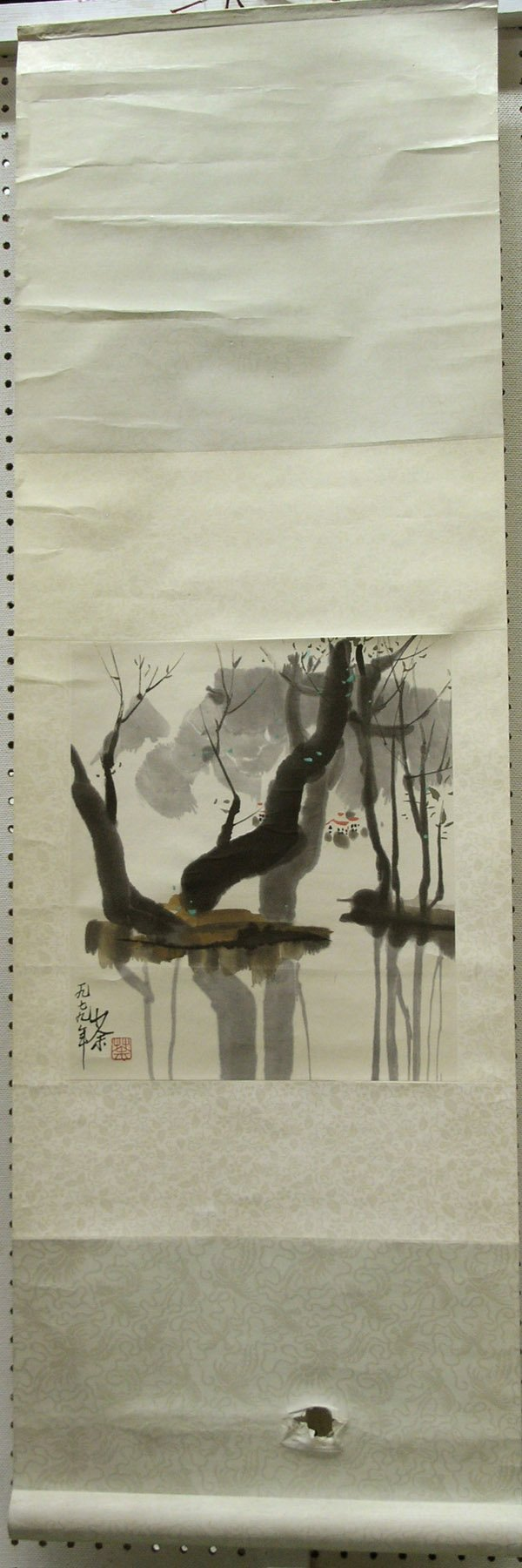 242: Chinese modern scroll painting, 1959