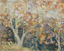 Emile Albert Gruppe, painting