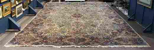 "Persian Lavar Kerman carpet, circa 1940, 13'3"" x 18'7"""
