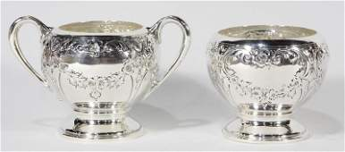 American Dunkirk Silversmiths Victorian style sterling