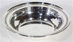 American Dominick  Haff sterling silver bowl 1070