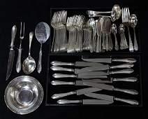American Dominick  Haff sterling silver flatware