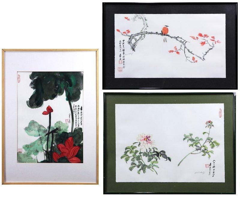Zhang Daqian/Chang Dai-chien Lithograph Prints
