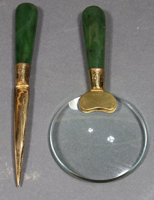 Chinese magnifying Glass/Letter Opener