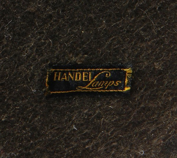 Handel reverse painted table lamp - 3