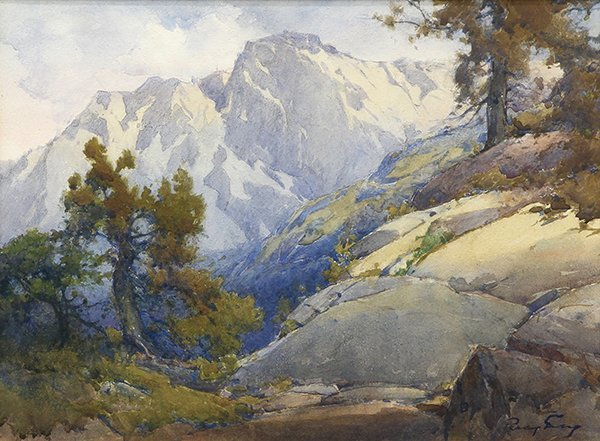 Watercolor, Percy Gray