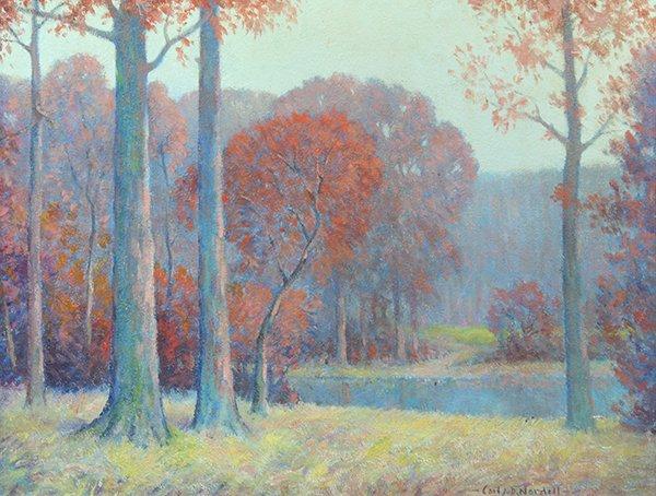 Carl John David Nordell, Painting