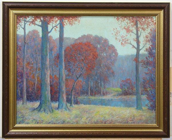 Carl John David Nordell, Painting - 2